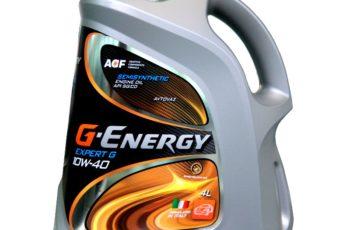 Детальный обзор моторного масла G-Energy Expert G 10W40 полусинтетика