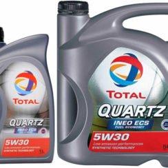 Детальный обзор моторного масла Total Quartz Ineo ecs 5w30