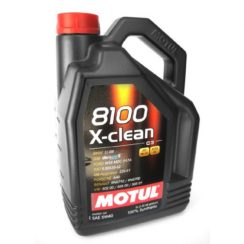 Детальный обзор моторного масла Motul 8100 X-clean 5W-40