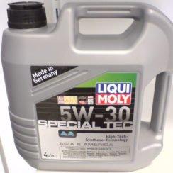 Детальный обзор моторного масла LIQUI MOLY Special Tec AA 5W-30