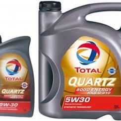 Детальный обзор моторного масла Total Quartz 9000 Energy HKS G-310 5W-30