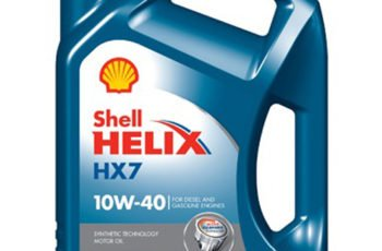 Детальный обзор моторного масла Shell Helix HX7 10W40 полусинтетика