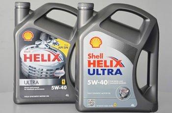 Детальный обзор моторного масла Shell Helix Ultra 5W40 синтетика