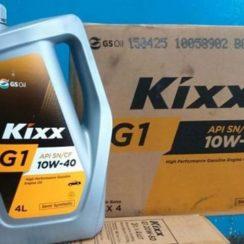 Детальный обзор моторного масла Kixx G1 10W40 полусинтетика