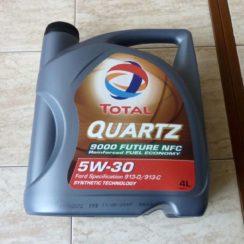 Детальный обзор моторного масла TOTAL QUARTZ 9000 FUTURE NFC 5W-30 синтетика