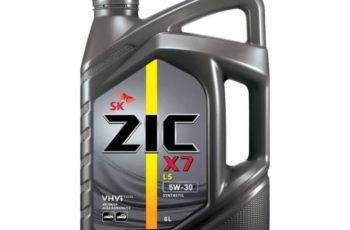 Детальный обзор моторного масла ZIC X7 LS 5W-30