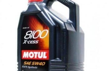 Детальный обзор моторного масла Motul 8100 X-cess 5W40