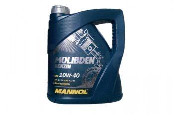 Детальный обзор моторного масла MANNOL 10W-40 полусинтетика