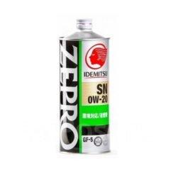 Детальный обзор моторного масла Idemitsu Zepro Eco Medalist 0w20 синтетика