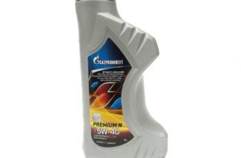 Детальный обзор моторного масла Gazpromneft Premium N 5W-40 синтетика