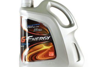 Детальный обзор моторного масла G-Energy F synth 5W40