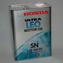 Детальный обзор моторного масла Honda Ultra Leo 0W-20 синтетика